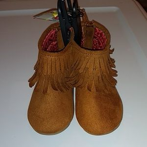 Infant Boot with fringe